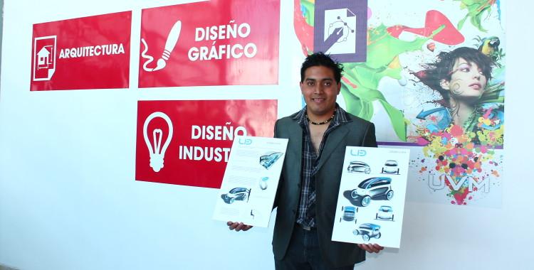 Diseña Estudiante de UVM Campus Puebla, Auto para uso del adulto mayor y con discapacidades