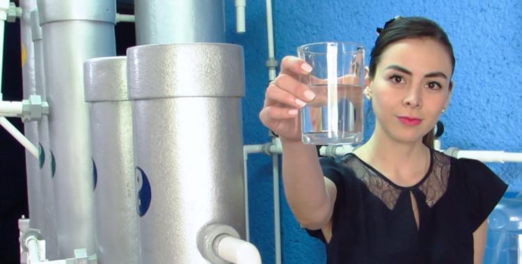 """Egresado de UVM desarrolla sistema único para dar solución a la escasez del agua y compite en una """"Idea para cambiar la historia"""""""