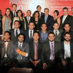 Entregan José Antonio Meade y Juan Ramón de la Fuente, el Premio UVM por el Desarrollo Social 2015
