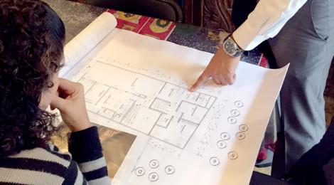 Estudiante de arquitectura de la uvm ayuda a familia con for Planos arquitectonicos de casa habitacion