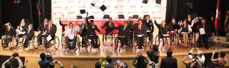 Concluyen personas con discapacidad motora adquirida, Segundo Diplomado de Competencias Profesionales en UVM Campus Coyoacán
