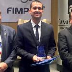 Recibe el Dr. Emmanuel López Neri, Docente de UVM, el Premio de Investigación FIMPES 2016