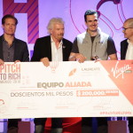 Elige Richard Branson al primer ganador de Pitch to Rich México 2016
