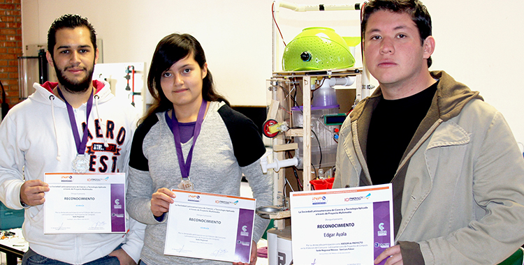 Ganan estudiantes de UVM Campus San Luis Potosí, 3er lugar, en el Infomatrix Latinoamérica en Bogotá, Colombia