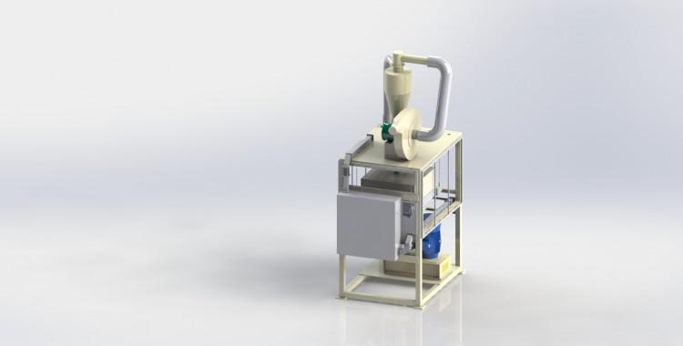 Desarrollan en UVM Campus Tuxtla máquina pulverizadora que convierte desechos en materia prima