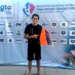 Terminar mi carrera en Administración y ubicarme en los 3 primeros lugares en los Grand Prix FINA, mi  objetivo en este 2017: Diego Balleza, alumno UVM