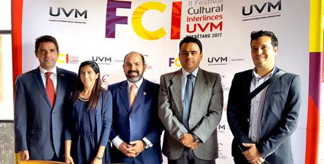 Querétaro será sede del II Festival Cultural Interlinces UVM 2017