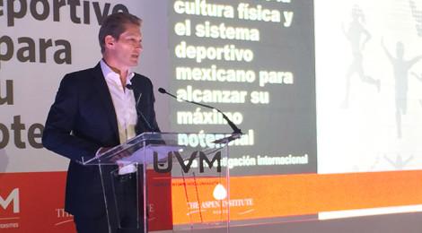 Propone Laureate México rediseñar la administración de la activación física y el deporte en nuestro país para alcanzar el máximo potencial