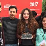 1-2-3 para Campus Puebla en MiniSumo, del MiniRobótica 13, UVM 2017