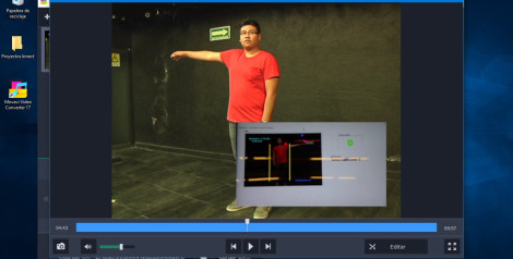 Estudiantes de UVM crean juego interactivo para terapia de rehabilitación