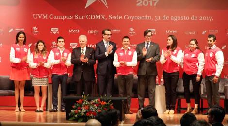 Inaugura UVM Salón de la Fama para sus Medallistas Olímpicos
