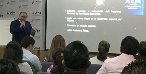 Participa docente de UVM Campus Santa Fe, en la Semana Mundial del Espacio