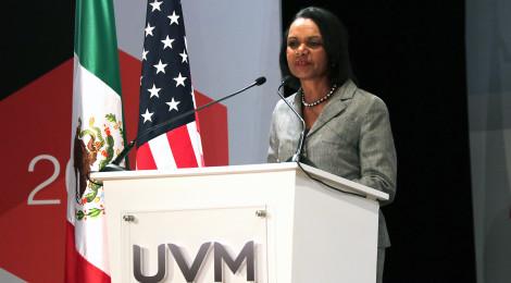 Reconoce Condoleezza Rice, avances en la democracia Mexicana