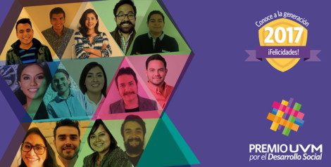 Anuncian a los Ganadores de la Novena Generación del Premio UVM por el Desarrollo Social 2017