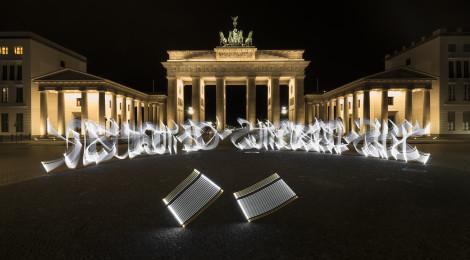 Chalchihuite, el mural más grande en Munich, elaborado por Said Dokins, Ganador del Premio UVM por el Desarrollo Social